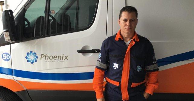 Hebert Tobias - Coordenador da equipe de enfermagem